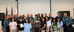 W.R. Coile Interact Club shows appreciation for police