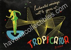 cuba havana tropicana casino night club tropicana cabaret memorabilia photo folder