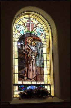 I have always loved stained glass windows in churches