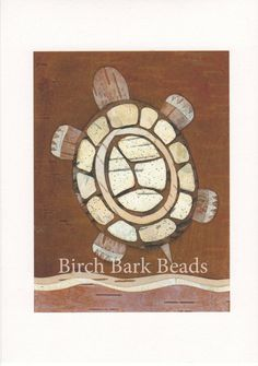 Items similar to Giclee fine art print of a Tortoise. Original artwork entirely made of birch bark, 5 x paper, Limited Edition, ONLY 5 LEFT! on Etsy Birch Bark Baskets, Birch Bark Crafts, Artwork Prints, Fine Art Prints, Nativity Crafts, Stuffed Animal Patterns, Recycled Crafts, Rock Art, Tortoise