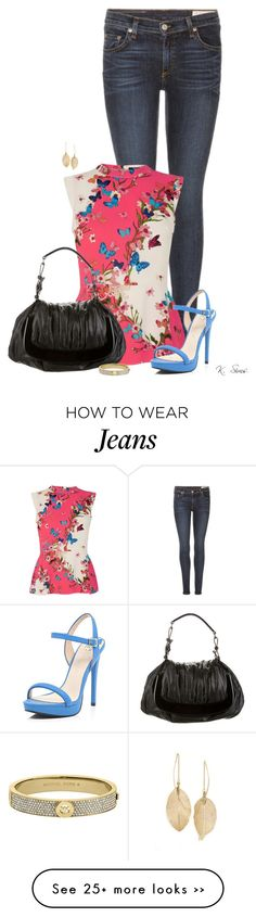 """""""Looking for a little attention."""" by ksims-1 on Polyvore featuring rag & bone, Oasis, River Island, Marni, Michael Kors and Lulu*s"""