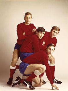 johan cruijff, sjaak swart, piet keizer & klaas nuninga by paul huf
