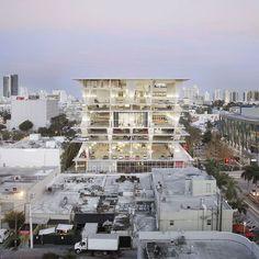 Herzog & de Meuron's 1111 Lincoln Road multi-storey car park in Miami Beach