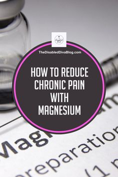 Magnesium has many health benefits, including reducing chronic pain. Find the form the will help you reduce muscle and nerve pain today.