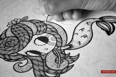 Anita Mejia - Illustration Blog: Entintando, RevistaTU