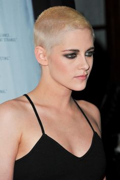 Literally Just 26 Pictures Of Kristen Stewart And Her Newly Shaved Head That You Can Stare At All Day