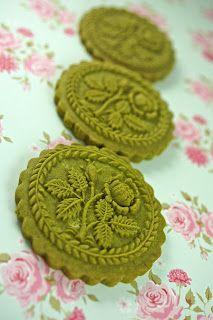Adventures in Sugarland: Green Tea Springerle Cookies