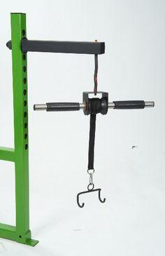 Grip Freak Hanging Wrist Roller, Power Rack unit - http://the-wonderful-world-of.com/exercise-equipment/grip-freak-hanging-wrist-roller-power-rack-unit/