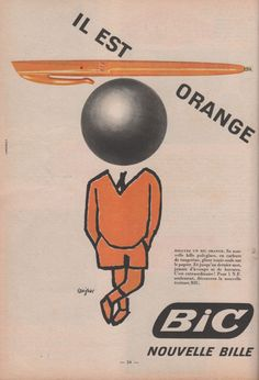 The Bic logo—you see it every day, but never really look at it. Here's how the Bic boy came to be.