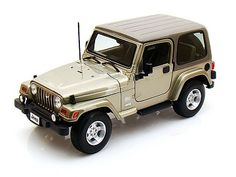 Bburago Jeep Wrangler Sahara 1/18 - Khaki