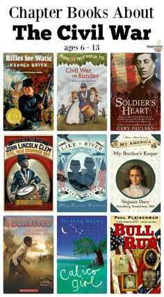 Historical Fiction Chapter Books About The American Civil War books 10 Historical Fiction Chapter Books About The American Civil War History Activities, Teaching History, Civil War Activities, History Books For Kids, Historical Fiction Books For Kids, Civil War Books, War Novels, History Magazine, Teaching Social Studies