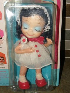 """Vtg 1967 Sealed Uneeda Little Sophisticates Penelope Posable 8"""" Doll NEW Sealed 