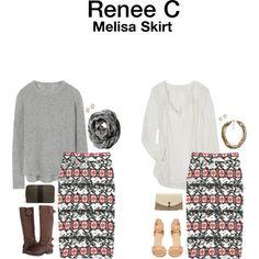 """Melisa Skirt"" by hanger731x on Polyvore"