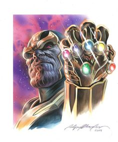 THANOS by felipemassafera