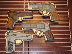Gun Cookies