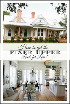 10 inexpensive ways to decorate and get the fixer upper farmhouse look get the look style and. Black Bedroom Furniture Sets. Home Design Ideas