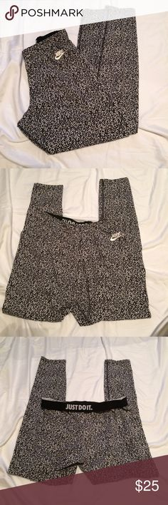 Nike bottom Beautiful monochromatic color, super blinding...but cute wear bottom for everyday. Price reflect brand and condition, ask any question below before purchase, will only negotiate through offer button..if the price is not a steal feel free to shop elsewhere, price is firm Nike Pants