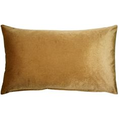 The inch Corona Golden Brown Velvet pillows are made from an exceptionally soft, high quality medium-pile velvet fabric with a medium sheen.