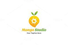 Mango Studio Logo by Martin-Jamez on Creative Market