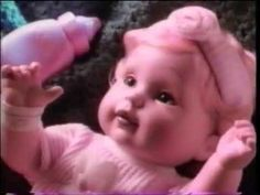 Newborn Baby So Beautiful  - Doll Commercial  - Playmates (1996) 90s Toys, Beautiful Dolls, Commercial, Memories, Baby, Toys Of The 90s, Cute Dolls, Memoirs, Souvenirs