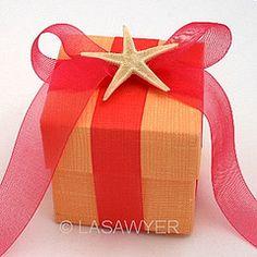 Beach Themed Wedding Favor Box Idea by LASawyer, via Flickr