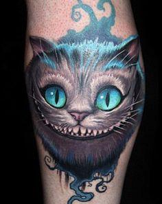 cheshire cat tim burton tattoo - Google Search