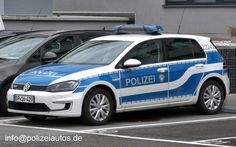 Polizeiautos.de - VW Golf VII e-Golf