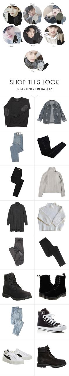 """""""⠀⠀⠀⠀⠀⠀⠀YOUNG FOREVER —  A U D I T I O N"""" by officialyf ❤ liked on Polyvore featuring MTWTFSS Weekday, Cheap Monday, COSTUME NATIONAL, Paige Denim, Monki, Vanessa Bruno, Dr. Denim, Timberland, Dr. Martens and Wrap"""