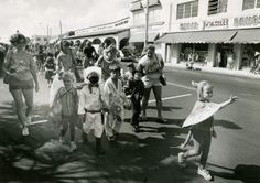 The annual Halloween parade on Atlantic Avenue in Delray Beach on Oct, 27, 1984