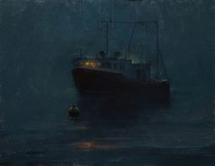 Night Light by Marc Hanson was selected as a Finalist in the May 2012 BoldBrush Painting Competition.