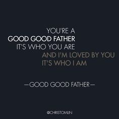 Have you heard the song Good, Good Father by Chris Tomlin? Chris Tomlin recently released the music video and shared the story behind the song!