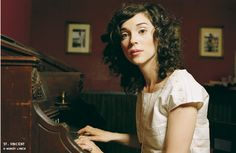 St. Vincent is my new curly hair idol
