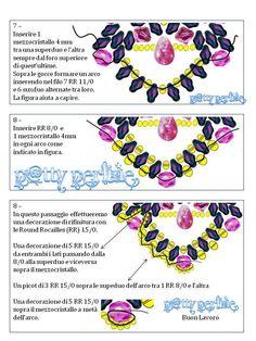 P@tty Perline: Rosa Carolingia Pattern superduo- 4