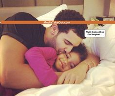 TOO CUTE!!! Rapper Drake Is Photo'd . . . Chillin With His ADORABLE GOD DAUGHTER!!! (Lil Mama Is ADORABLE Too)