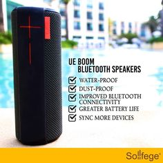 What's water-proof dust proof has improved connectivity and syncs upto 8 devices? Logitech's pint-sized UE Boom Bluetooth Speakers can handle all of the above. AND smoothly! Do you have it yet?#Sollfege#Design #SmartHomes#iot#HomeControl #sollegeindia#smarthome#technology#av #homeautomation#future #smartliving#smartlife#audiovedio#luxuryhome#lifestyle #highres#instamood…