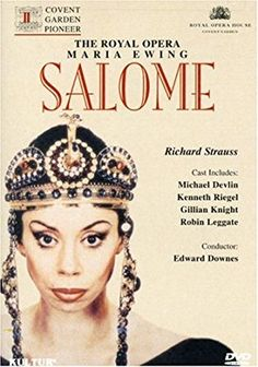 Salome (The Royal Opera) (dvd_video) Richard Strauss, Opera Singers, Covent Garden, Conductors, Robin, Cool Things To Buy, It Cast, Legends, Veils