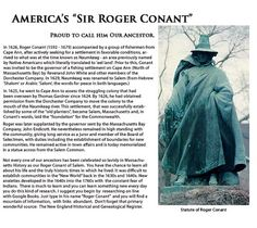 Miller-Anderson Histories: ROGER CONANT 1592-1679 | 10th Great Grandfather