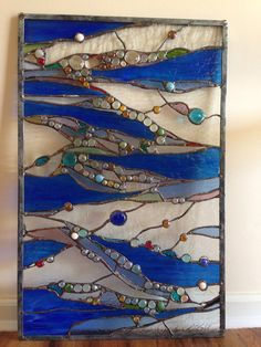 Stained Glass Abstract Transom Window Suncatcher by HelioGlass Faux Stained Glass, Stained Glass Panels, Stained Glass Projects, Stained Glass Patterns, Glass Garden, Garden Art, Transom Windows, Grand Piano, Cupboard Doors