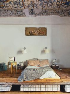 Make Your Own Bed Risers Exactly The Height You Want Awesome We Need To Raise Our Bed So We