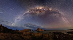 What is the colour of your universe? Nowadays I start with colour temperature 4400 and fine tune later. I know I'm shooting raw - but this gives me the best starting point out of camera. Since I use curves etc - they affect colour balance. #landscape #longexposure #panorama #milkyway #perth #astrophotography