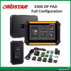 Car key programming machine x300 dp pad full version car kilometer correction tool x300 dp pad key master better than x300 pro3