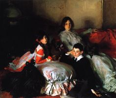 John Singer Sargent - Essie, Ruby and Ferdinand, Children of Asher Wertheimer, 1902