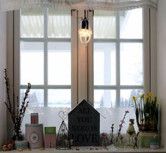 Englekyss All You Need Is Love, Windows, Curtains, Home Decor, Blinds, Window, Interior Design, Draping, Home Interior Design