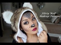 ▶ Flirty Wolf Makeup Tutorial - YouTube