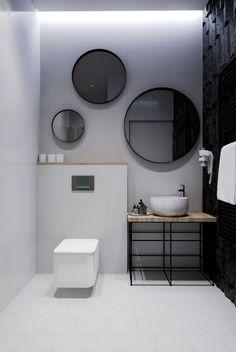 10 Versatile Tips: Minimalist Interior Design Architecture colorful minimalist home colour.Minimalist Home White Minimalism minimalist interior kitchen floors. Minimalist Bathroom Mirrors, Bathroom Mirror Design, Bathroom Interior Design, Small Bathroom, Bathroom Ideas, Bathroom Sinks, Remodel Bathroom, Minimal Bathroom, Gray Interior