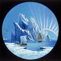 Icebergs & Aurora (1875)
