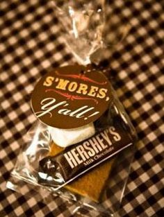 S'more favors, so cute!