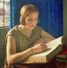 Portrait of Dame Laura Knight by Harold Knight
