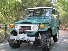 1978-Toyota-Land-Cruiser-FJ40-frame-off-restoration-green-a | Land Cruiser Of The Day!