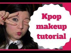 Kpop MAKEUP TUTORIAL - CornerCurvy